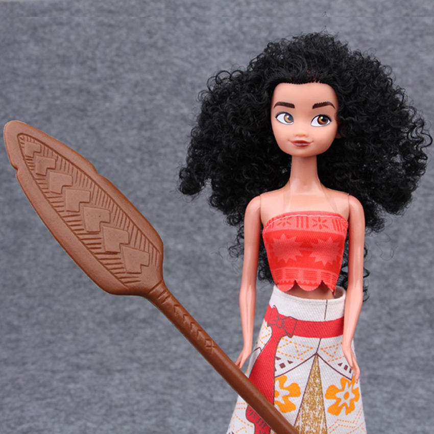 High Quality Cute Princess Moana Action Figures toys Doll Kawaii Plastic Doll Gift for Girls