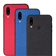 For Vivo X21 UD Version (Screen Fingerprint) Phone Case Fabric Shockproof Classic x21 X21i x21UD case cover Capa