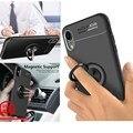Ультратонкие Чехлы для iPhone 7, 8, 6s plus, чехол для телефона с магнитным кольцом для iPhone X, XR, XS MAX, чехол с держателем для пальцев для iPhone 5, 5S SE