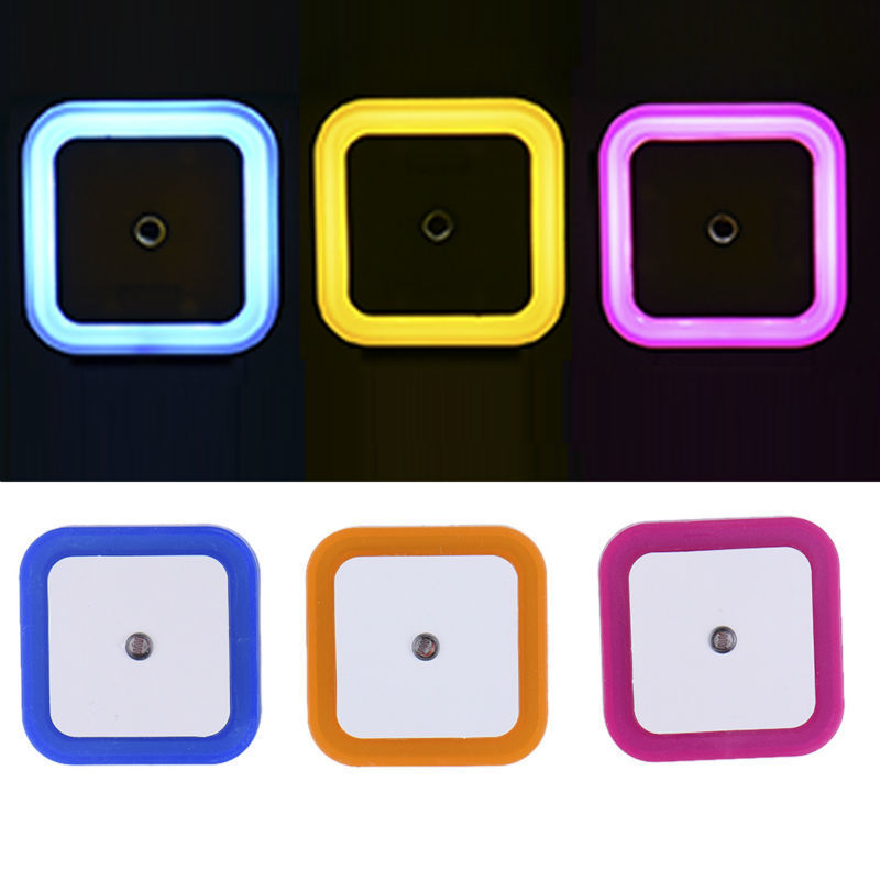 Auto <font><b>LED</b></font> Light Induction Control Bedroom Night Lights Bed <font><b>Lamp</b></font> <font><b>EU</b></font> <font><b>Plug</b></font> 100V-220V 0.5W Drop Shipping luminaria