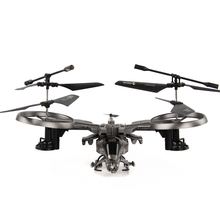 Attop YD-711 Four Channel Remote Control Aircraft Large Model Aircraft Remote Control Helicopter Quadcopter Avatar #E