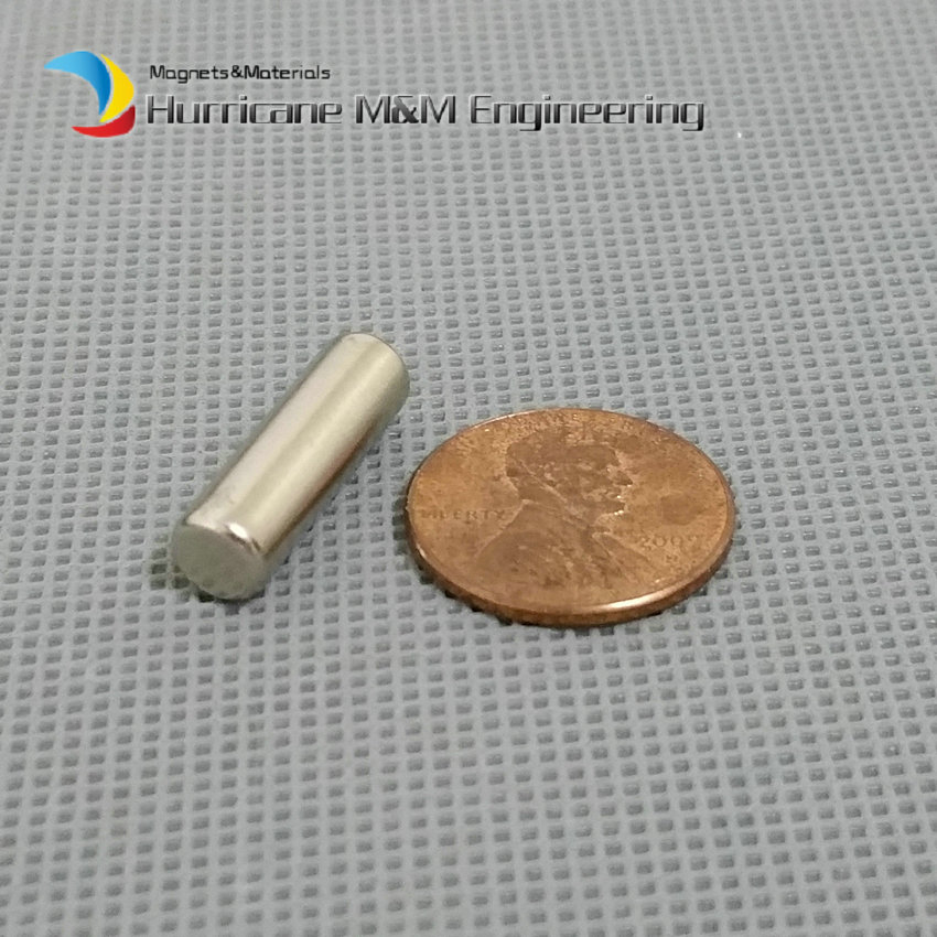48-500pcs NdFeB Magnet Disc Dia. 6x20 mm Rod Diametrically Magnetized Strong Cylinder Neodymium Permanent Rare Earth Magnets 1pack ndfeb magnet ring dia 7 2x3x6 3 mm rod diametrically magnetized n40m strong neodymium permanent rare earth magnets