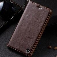 PALUNI Meizu M3 Mini M3S Mini 5 0 Case Cover Crazy Horse Flip Genuine Leather Case