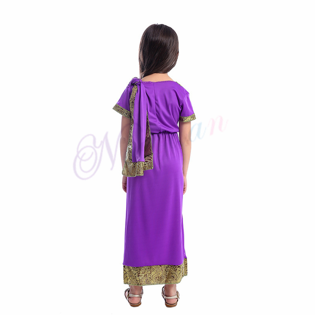 Indian Saree Party India Sari Dress Bollywood Girls Traditional Indian Clothes For Kids Children 6