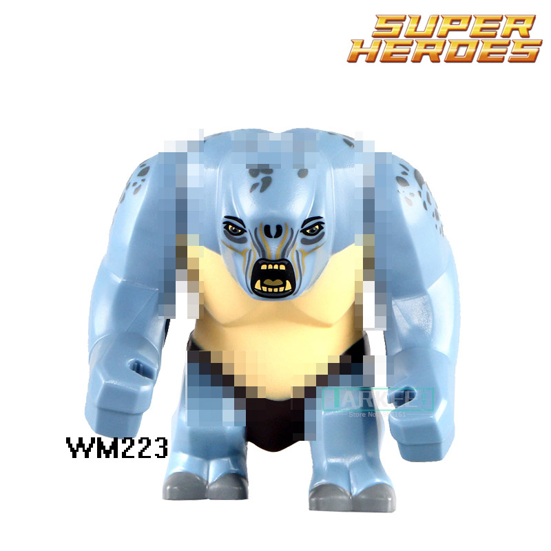Building Blocks Super Heroes Star Wars Cave Troll Lord of the Rings Mines Of Moria Bricks Kids DIY Toys Hobbies WM223 Figures building blocks the walking dead figures rick negan carl daryl star wars super heroes set assemble bricks kids diy toys hobbies