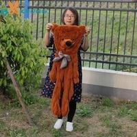 [5 Colors] 100CM big teddy bear skin bearskin coat plush toys brinquedos factory wholesale price