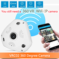 3D DVR 360 camera 360 Degree VR Panorama Camera CCTV HD 960P wi-fi IP Camera Surveillance System 360 Cam Video Mini Camera