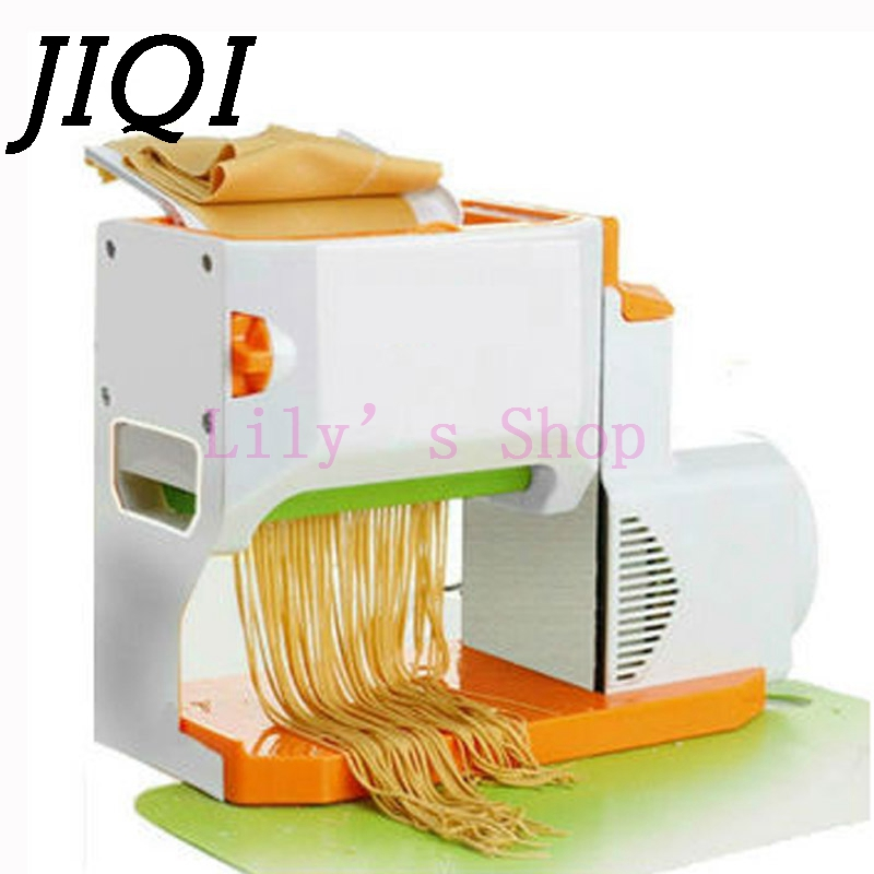 Household electric noddles pressing machine commercial stainless steel automatic multifunction pasta noddle press making maker commercial automatic ice maker household electric bullet round ice making machine 15kg 24h family small bar coffee teamilk shop