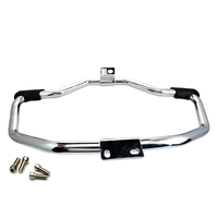 Chrome Bar Engine Guard Crash Heed For Harley SuperLow 1200T XL1200T 2014 2017 7779