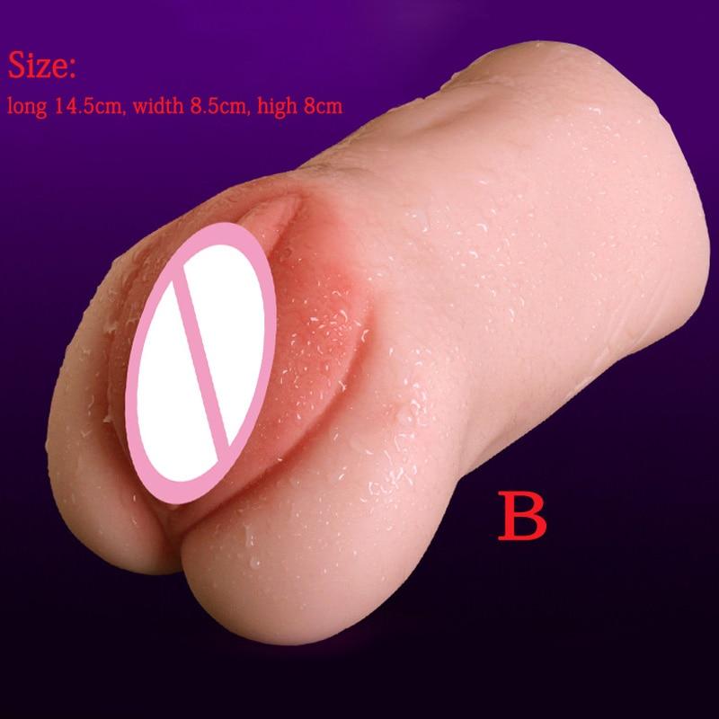 Male Masturbator Super Real Feel Realistic Vagina Pocket Pussy Sex Toys For Men Masturbation Artificial Vagina Soft Sexy Toys in Masturbators from Beauty Health