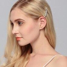 1 pcs Shining Crystal Diamond Hair Clips Sweet Ladies Wedding Party Headwear Jewelry Korean Style Side Hairpins for Women