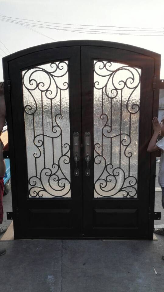 French Main Door Designs French Garage Doors Wrought Iron Doors