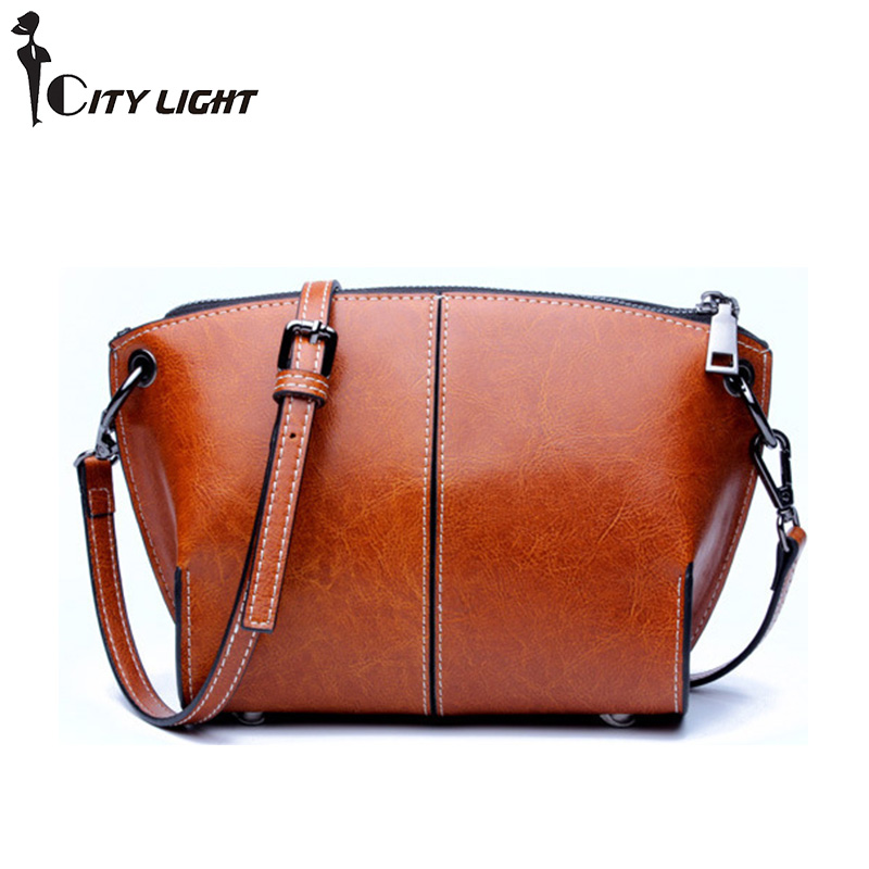 Vintage Small Crossbody Bags For Women 2017 New Shoulder bags High Quality Shell Bag Genuine Leather Messenger Bag Female auau new bags women skull head shoulder crossbody small personalized messenger bag handbag hight quality vintage cute style 2017