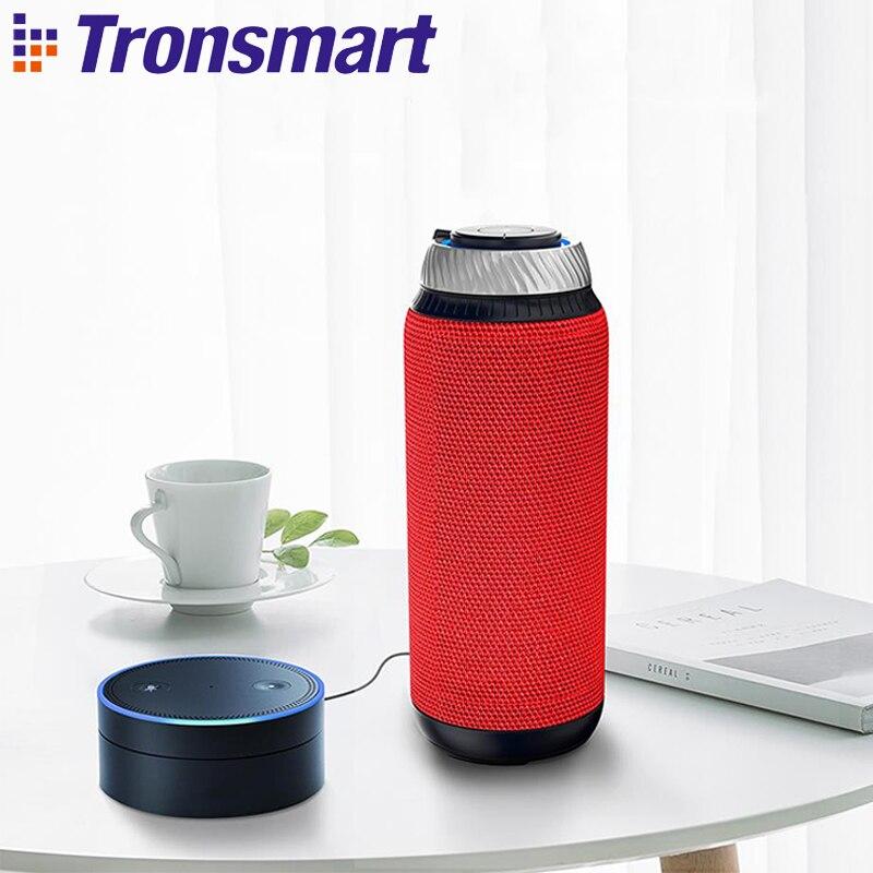 Tronsmart Elemento T6 Sem Fio Receptor de Áudio Mini Alto-falantes Soundbar USB AUX para a Música MP3 Player BT Falante Portátil 4.1