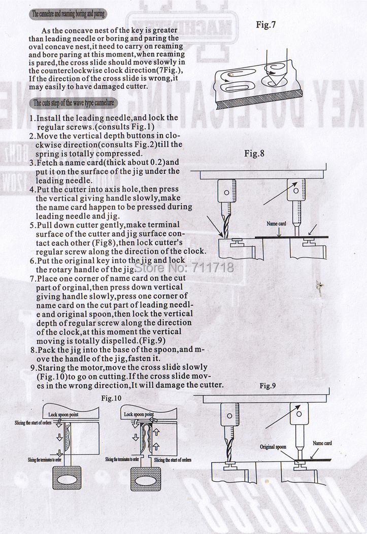 Taglia chiavi Defu 368a Duplicate Key Cutting Machine For Sale Fabbro - Utensili manuali - Fotografia 6