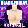 Top Quality E Cup Realistic Silicone Breast Forms Artificial Boobs Enhancer Crossdresser Vagina For Man Shemale