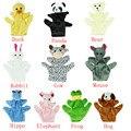 HOT Bebê Criança Zoo Farm Animal Mão Luva Fantoche de Dedo Sack Plush Toy Levert Dropship De Agosto De 31