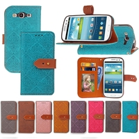 Retro Leather Case For Samsung Galaxy S3 I9300 SIII Neo Wallet Style Flip Phone Bag Cover