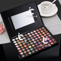 Diamond Matte Makeup 88 Colors Eyeshadow Palette Warm Neutral Eye Shadow Kit