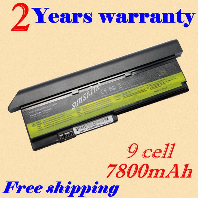 Jigu 9 celdas de batería portátil para ibm/lenovo thinkpad x200 x200s x201 x201i x201s 42t4834 42t4835 43r9254 42t4537 42t4541 43r9255