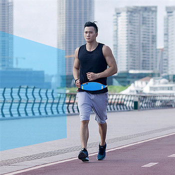 Waterproof Sport GYM Running Waist Belt Pack Phone Case Fitness Zipper Bag Armband For iPhone X 8 7 5 6 6s 7 Plus armband for iphone 6