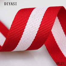 10 Yards/Roll 30mm Wide Strap Nylon Webbing knapsack Strapping Bags Crafts HL21