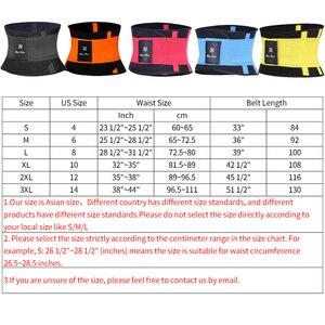 Image 5 - Ceinture de Fitness Xtreme puissance Thermo corps Shaper taille formateur tondeuse Corset taille ceinture Cincher enveloppement entraînement Shapewear minceur