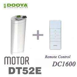 رائجة البيع الأصلي Dooya 45 واط محرك كهربائي للستائر DT52E مع وحدة تحكم عن بعد للمنزل الذكي