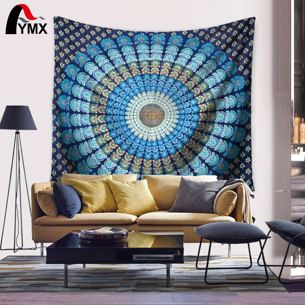 Vanitas Mandala Tapestry Moroccan Indian Printed Wall Wall Tapestries - Hjem tekstil