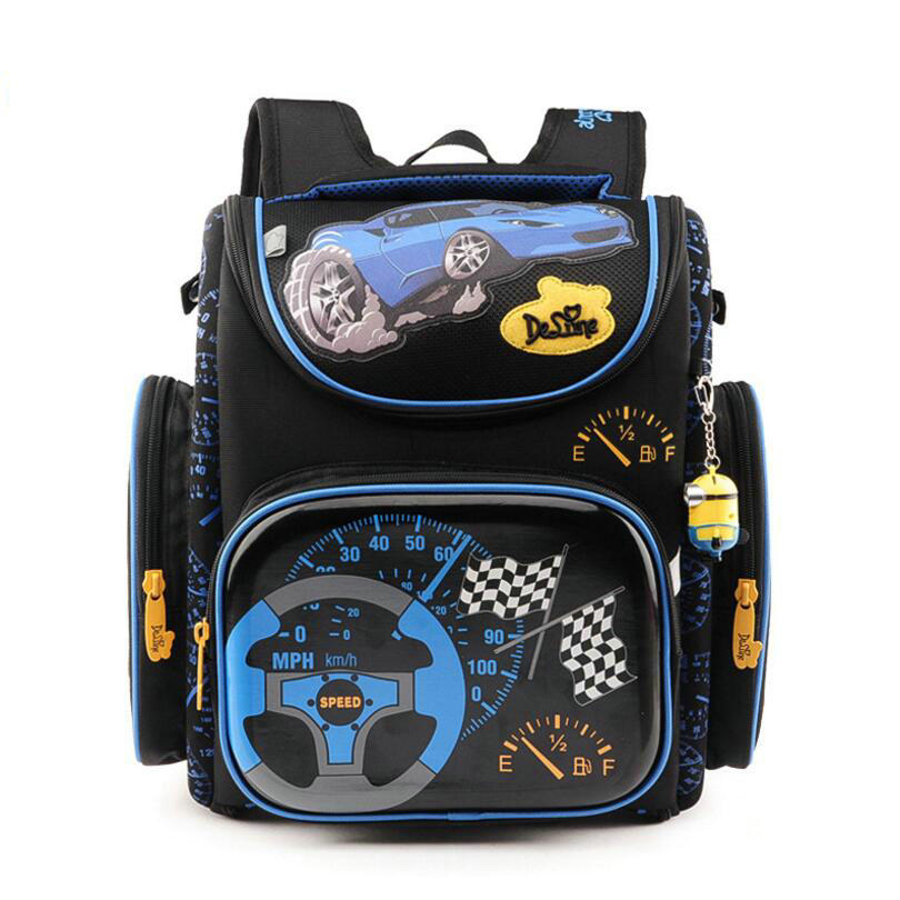 Delune Children School Bags for Boys Orthopedic