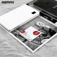 100 Original Remax Power Bank 30000 MAh Portable Bank External Battery 4 Usb Charger For Samsung