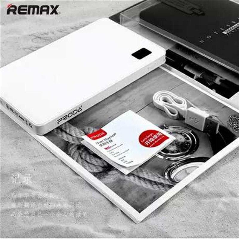 100% Original Remax batterie externe 30000 mAh portable banque externe batterie 4 usb chargeur pour Samsung S8 S8 + Note 8 universel