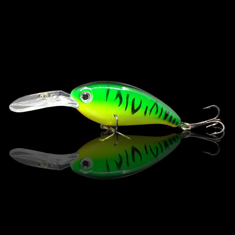1Pcs 10cm/14g  hard bait fishing Wobbler Artificial Crank Bait Bass trout Lure pike trolling pesca minnow tackle 2