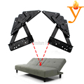 electrophoresis black multifunction furniture hardware hinge for sofa bed D07