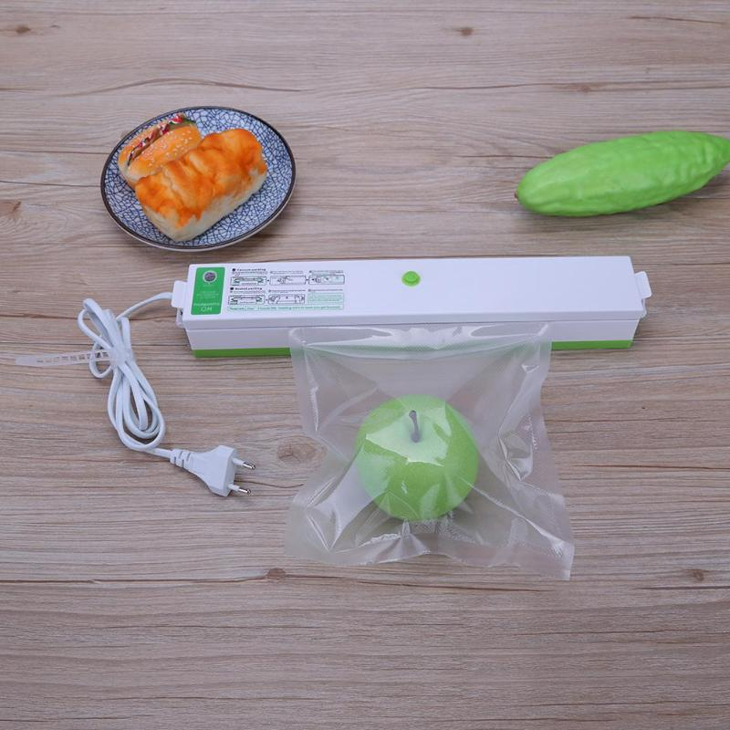Alloet Electric Vacuum Sealer Automatic Vacuum Food Sealer Household Kitchen Appliances Sealing Machine with Vacuum Bags