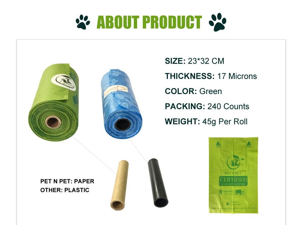 Earth Friendly Biodegradable Pet Poop Bags 48 » Pets Impress