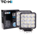 TC-X 2X16x3 W LED Luz de Trabajo Del Coche LED Luces de Trabajo Luz de Inundación plaza Adicional Extra para el Canotaje Caza Pesca Truck Foglight