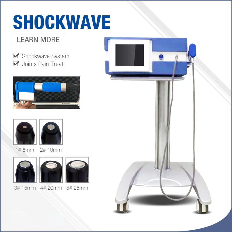 New System German Imported Compressor 7 Bar Shock Wave Therapy Machine/Shock Wave Therapy Machine/Extracorporeal Shock Wave