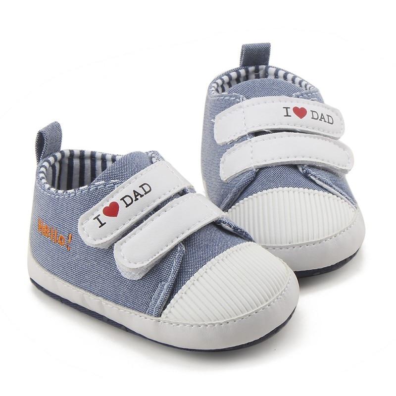High Quality Newborn Baby Mocassins Infant Kids Boy Girl Soft Sole Canvas Sneaker Toddler Shoes 0-18M стоимость