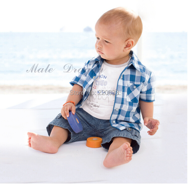 New 2016,Baby boy clothes,bebe,newborn,summer clothing set,sport suit,3 pcs set,blouse+t-shirt+jeans pants baby boy clothes 2017 brand summer kids clothes sets t shirt pants suit clothing set star printed clothes newborn sport suits