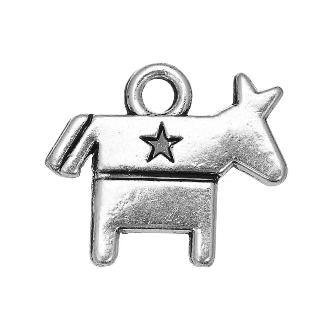 Skyrim 20pcs metal antique silver toned political party symbol skyrim 20pcs metal antique silver toned political party symbol democrat donkey election 2017 charms jewelry in charms from jewelry accessories on biocorpaavc Image collections
