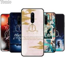 Panic At The Disco Silicone Phone Case for Oneplus 7 7 Pro 6 6T 5T Soft Cover Shell for Oneplus 7 7Pro Black Case