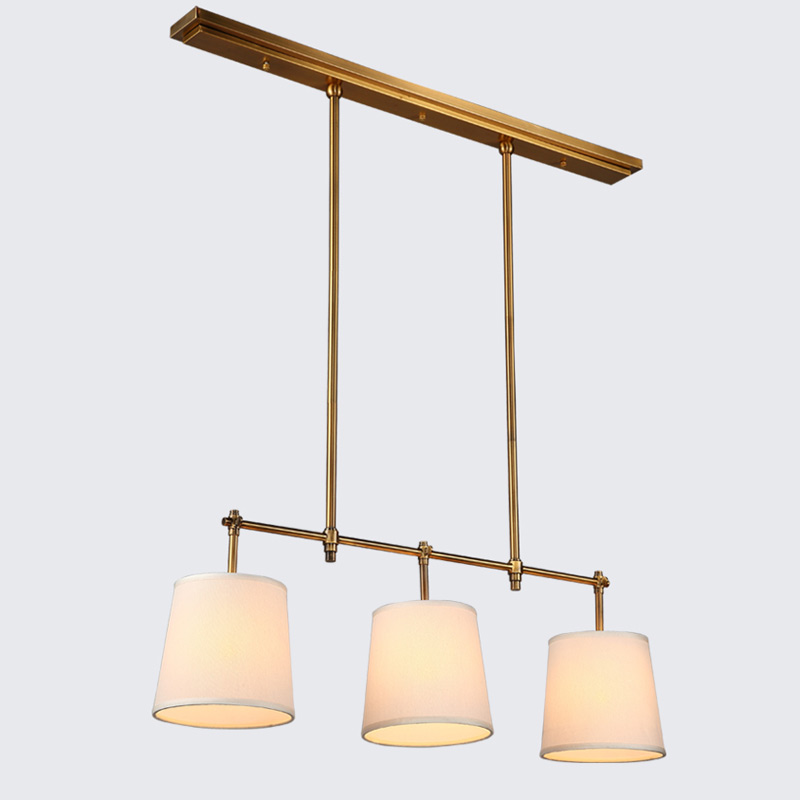 Us 97 64 29 Off Modern Lustres Chandelier Fabric Lampshade Light Fixtures Living Room Kitchen Lamp Decor Home Lighting Black Copper Metal E14 In