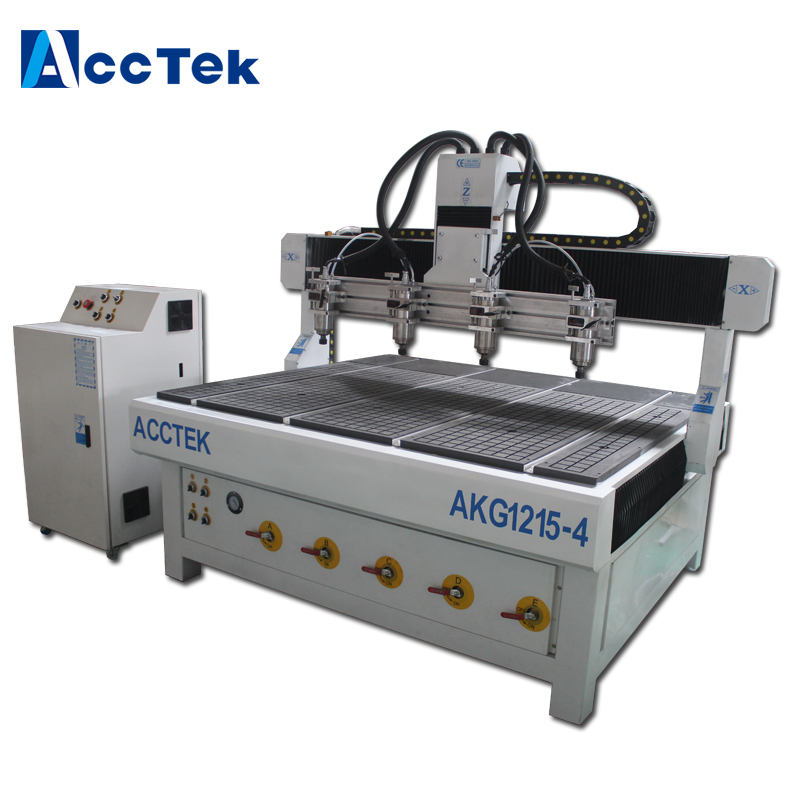 cylinder engraving 4 spindle four heads wood cnc router with rotary/ cnc spare parts with cheap price