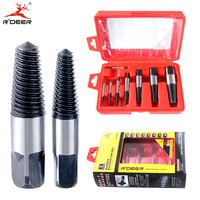 8pcs Screw Extractor Damaged 3 50mm Broken Screws Removal Tool Drill Bits Guide Damaged Bolts Remover