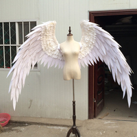 wedding shooting props Cosplay photography game costume Angel demon wing cartoon feather angel wings for Fashion show Displays
