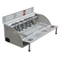 Fast Freeshiping By DHL Electric Paper Creasing Machine Book Cover Creasing Cutting And Creasing Machine