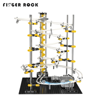 Finger Rock Space Rail Roller Coaster Toys High Quality Fit Blocks Assembly Electric DIY Spacerail Model Building Kits For Boy