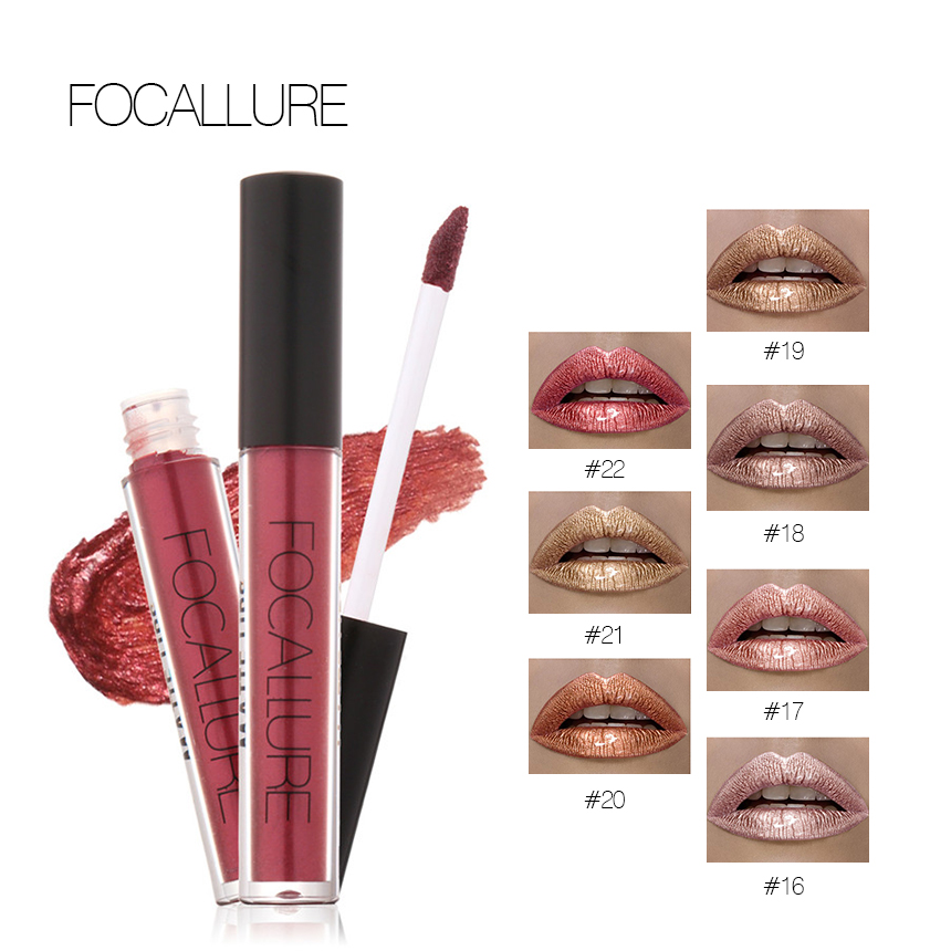 Waterproof Matte Liquid Lipsticks Long Lasting High Quality Lip Gloss Lip Makeup 7 Colors For Choice Non Stick Cup Lip Gloss