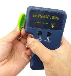 Image 3 - Copieur RFID portable, lecteur de programmateur, 125KHz, 5 pièces, étiquettes de clavier inscriptibles, EM4305 T5577, EM4100 TK4100